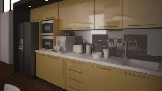 кухня в офис