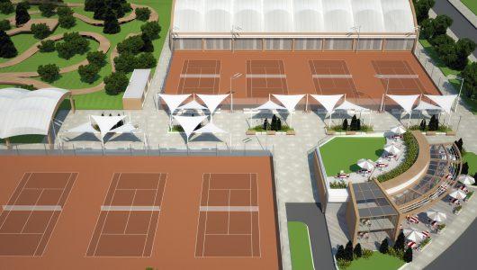 Тенис комплекс и велопарк