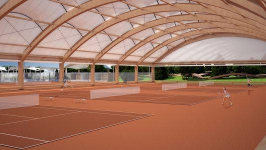 Покритие за тенис кортове