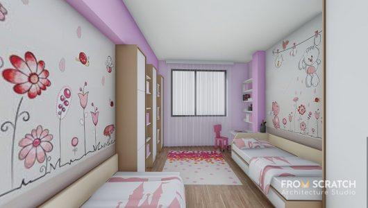 проект за детска стая за момиче